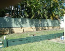 Ashley's Fencing – Retaining Walls