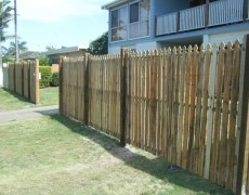 Ashley's Fencing – Gold Coast Fencing – Timber