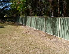 Ashley's Fencing – Colorbond Fencing
